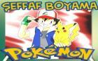 Pokemon Şeffaf Boyama